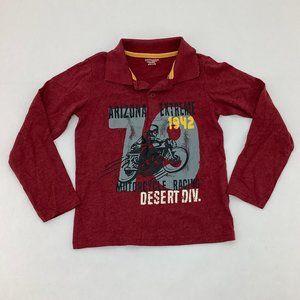 Toughskins | Boy's Long Sleeve Shirt | Red